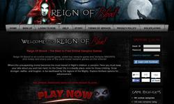 Screenshot of ReignOfBlood.net