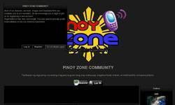 Screenshot of PINOY ZONE COMMUNITY