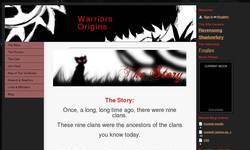 Screenshot of Warriorcats at the Top