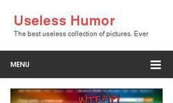 Screenshot of USELESS HUMOR