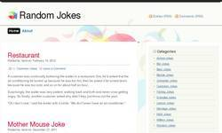 Screenshot of Random Jokes