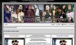Screenshot of --> elite.wrestling.entertainment <--