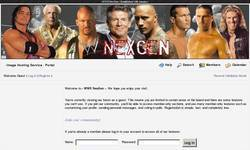 Screenshot of WWE NexGen