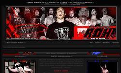 Screenshot of RoH Wrestling