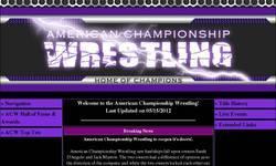 Screenshot of American Championship Wrestling