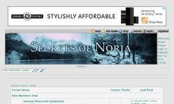 Screenshot of Secrets of Noria