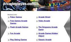 Screenshot of ArcadePlayas.com
