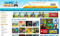 Screenshot of GameMais.com.br - Jogos online Gr�tis