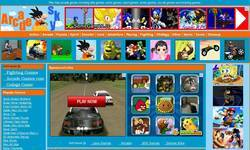 Screenshot of Arcadesky.net free online game