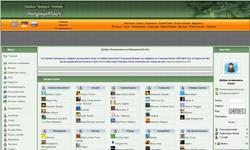 Screenshot of Online Game Portal