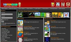 Screenshot of Welcome To YoFunClub.com ! Best Site To Have Fun Online : Games ,Music ,Videos !