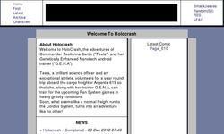Screenshot of Holocrash