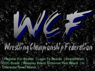 Screenshot of Wrestling Championship Federation