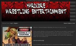 Screenshot of Extreme Hardcore Wrestling