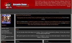 Screenshot of The arcade Zone Games