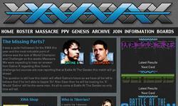 Screenshot of Xtreme Wrestling Alliance