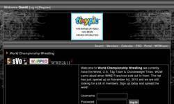 Screenshot of World Championship Wrestling