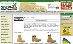 Screenshot of Wolverine Boots