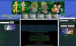 Screenshot of DBZ-Zone: Your Ulimate Anime Source!