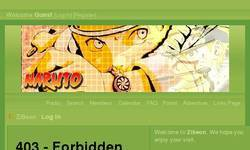 Screenshot of ZiBeon Anime Forum