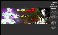 Screenshot of Dbz Conflicts Return