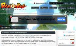 Screenshot of Dragonball Online Community
