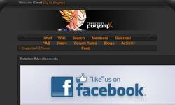 Screenshot of Dragonball Z Forum