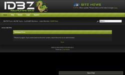 Screenshot of Infinite DBZ RPG