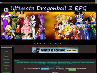 Screenshot of Ultimate Dbz Role Playing Game