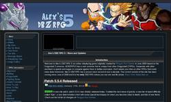Screenshot of Alex's DBZ RPG 5