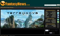 Screenshot of Fantasy News