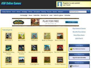 Screenshot of ASR Online Games