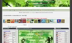 Screenshot of Arcade World War.com