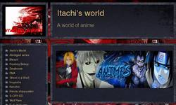 Screenshot of Itachi's world: A world OF FREE anime for Life!!!