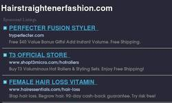 Screenshot of hairstraightenerfashion