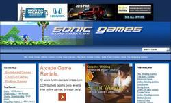 Screenshot of Sonic Games