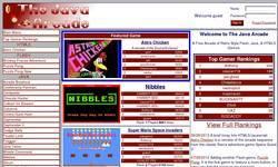 Screenshot of The Java Arcade