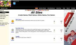 Screenshot of Arcade Flash Games