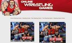 Screenshot of Wrestling Games