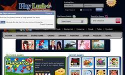 Screenshot of Play Lush