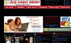 Screenshot of sohbet odalari