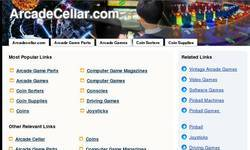 Screenshot of Arcade Cellar