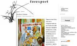 Screenshot of Forexport blog za izvoz