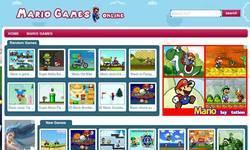 Screenshot of Mario games
