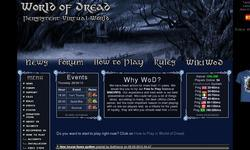 Screenshot of World of Dread - UO Server