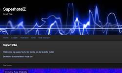 Screenshot of superhotelZ site