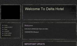 Screenshot of DELTAHOTEL