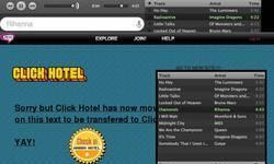 Screenshot of Click-Hotel