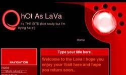 Screenshot of Lava