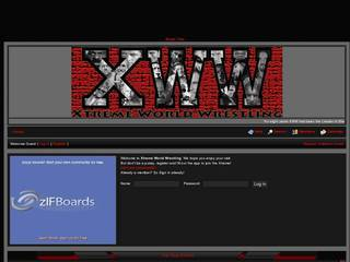 Screenshot of Xtreme World Wrestling